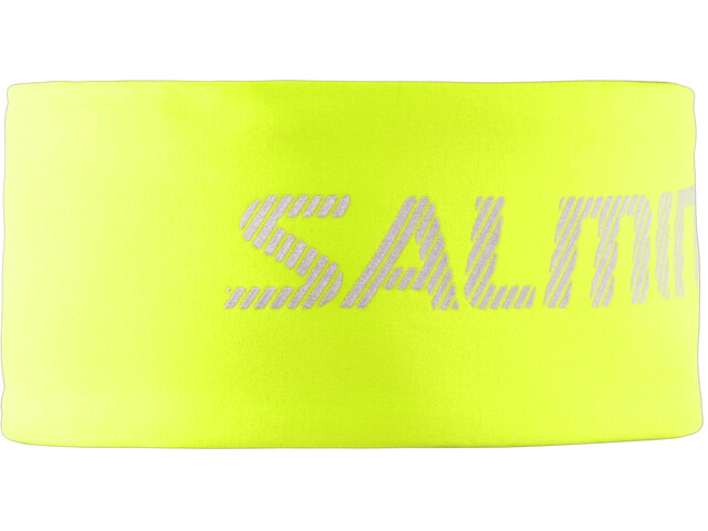 Salming Thermische Hoofdband, safety yellow
